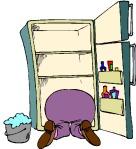 """""""..op de kop in de koelkast.."""""""
