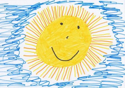 Kurkuma voor kinderen tekening