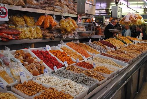 kurkuma op de markt