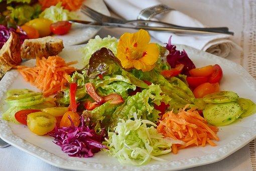 groenten salade met gezond verstand