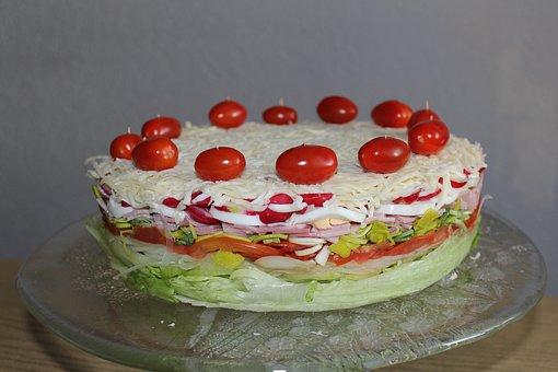 Groente taart