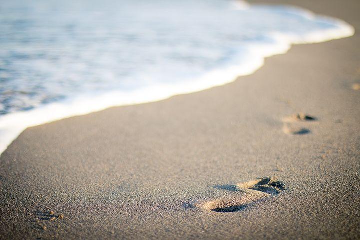 zee-en-strand-wandeling, gezond zout
