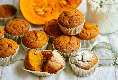 Pompoen-muffins