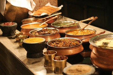 Vindaloo-buffet
