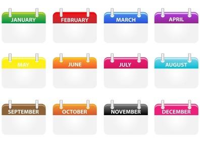 Kalender-nieuwjaar