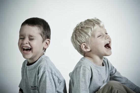kinderen-lachen