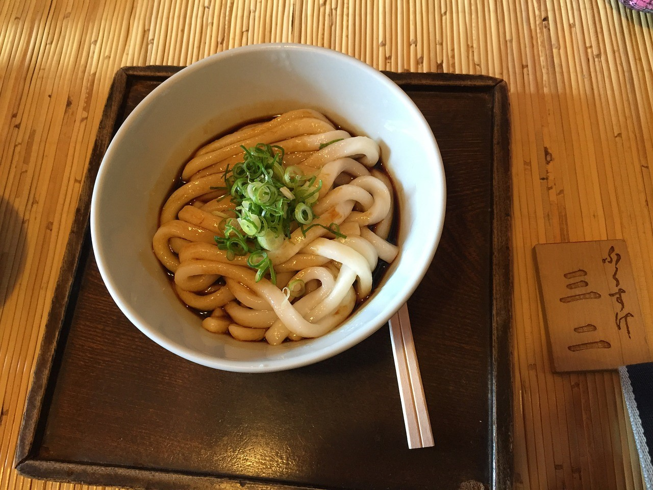 6 smaken udon noedels