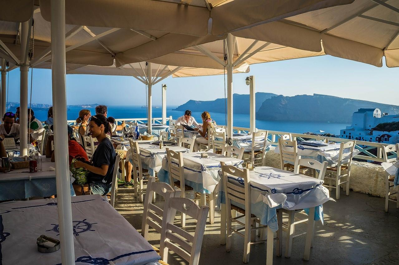 Griekse stoofblog restaurant