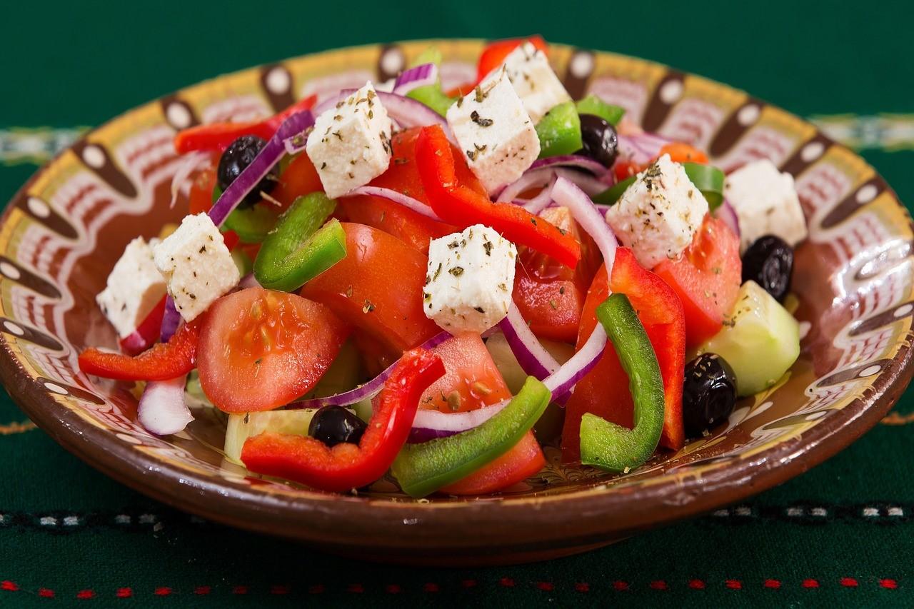 Griekse stoofblog salade mooi