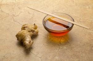 gember blog siroop honing en geraspte gember