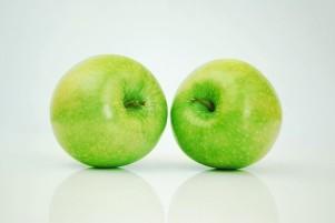 kleurblog groen appels
