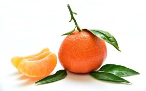 kleurblog oranje mandarijn